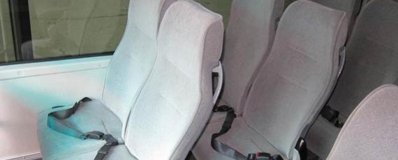 установка ремней безопасности в амир